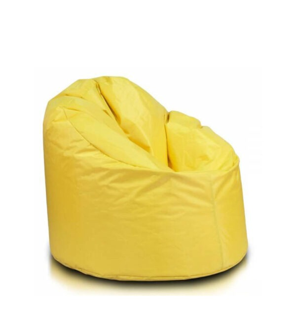 Yellow outdoor bean bag