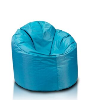 sky blue bean bag