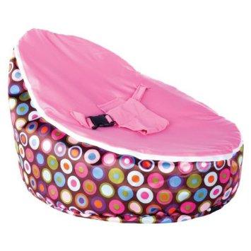 baby bean bag pink