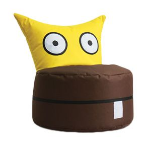 owl baby bean bag