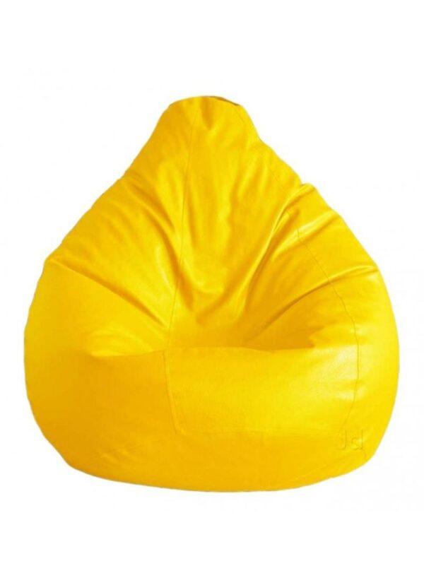 yellow bean bag