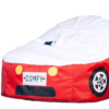 baby red car bean bag