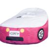 pink car bean bag